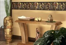 Colors and Ethnic Decoration