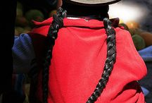 tradicional clothing from andes