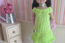 Poupées Little Darling / Mes créations au crochet pour les poupées Little Darling : Patrons et tenues disponibles dans ma boutique