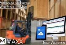 Stock Adjustments / Stock Adjustment is used to adjust stock quantity / transfer of goods from one place to another... http://maxxerp.blogspot.in/2013/09/maxx-abundance-of-business-with-peace.html