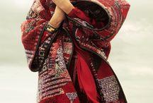 Etnica y vintage / Moda antigua y actual etnica