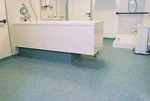 Hospital Flooring Design