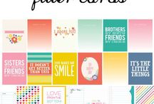 Project Life Cards / by Dreamtime Designs