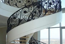 spiraling staircases