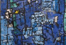 Buffie Johnson / (1912-206). She was a very well to do lady who took art seriously. Exhibited with Jackson Pollock, Lee Krasner, Hans Hofmann, Mark Rothko, Adolph Gottlieb, and Robert Motherwell, among others. She also exhibited at Betty Parsons Gallery in New York, and in 1959 completed the world's largest abstract mural for the Astor Theatre in New York City. Buffie Johnson moved from East Hampton, Long Island, back to New York City in 1966, where she resided until her death.