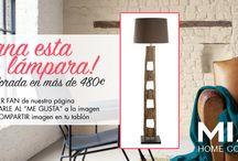 Sorteo MIA HOME CORNER Lámpara de Pie