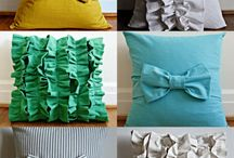 Pretty pillows I want to make. / by Nikki Joyce