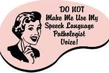 Speech-Language Tx Ideas