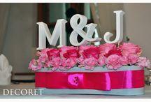 dekoracje ślubne i weselne DECORET / Firma DECORET zajmuje się całościową dekoracją związaną ze ślubem i weselem. Waszą przygodę z nami możecie zacząć już od zaproszeń .Oferujemy również inne dekoracje okolicznościowe np dekoracja scen ,witryn sklepowych czy eventów. Zapraszamy do naszej galerii na facebooku wpisując decoret Teresa Ogórek