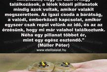 Müller Péter idézetek