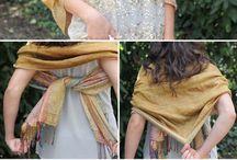 scarf drape