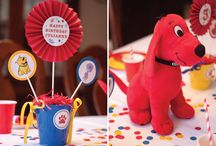 Clifford The Big Red Dog Party / by Amber Hedge