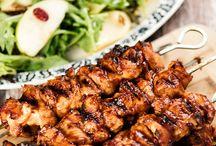 Healthy recipes / Chicken kebabs