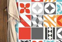 Tiles and Patchwork Stickers