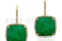 May Birthstone: Emerald / by Anne Sisteron Fine Jewelry