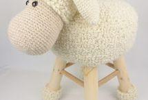 * Crochet Stools *