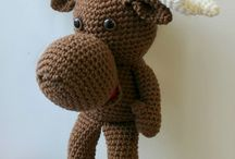 Muddy the Moose Crocheted