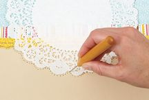 Tutorials / Backgrounds, Techniques, Washi Tape, Craft