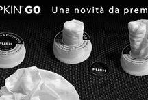 Salute & Benessere / Salvietta compressa in una confezione in plastica riciclabile