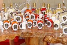 Cretan Wines & Drinks / Cretan Wines, traditional Cretan Tsikoudia Raki, Rakomelo (raki with honey), Tsikoudia with orange, stawberry, almond and caramel, Ouzo, local liqueurs from fruits and herbs.