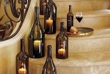 Декор мероприятий: Бутылки и Баночки