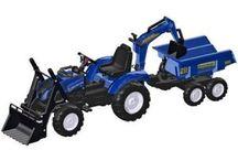 Ride-on tractors