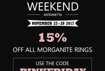ANTOANETTA  Events & Sales / Learn about our events, sales, promotions and special deals!