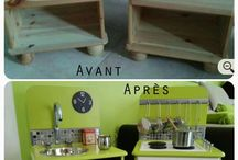 Montessori bútor átalakítás