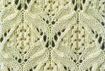Knitting Stitch Swatches