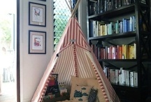 Reading Nooks / The perfect spot to curl up with a book.