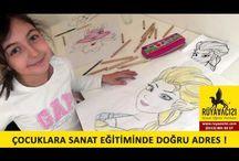 Sanatcilarimiz / BAKMAYI DEĞİL, GÖRMEYİ ÖĞRENİYORUM !  Türkiye`de eğitim sistemimiz içinde, ne yazık ki sanata ayrılan alan çok az. Sanat derslerinin haftada sadece birkaç saate sıkıştırıldığını görüyoruz. Sanat eğitimi ikinci plana atılıyor çoğu zaman; lüks olarak görülebiliyor yada sadece yetenekli çocukların bu eğitimi almaları gerektiği gibi yanlış bir kanıya sahip bir çokları. Oysaki çocuk eğitiminde en mühim şey, çocuğun sanatı sevmesi, yapmak istemesi, sabır gösterebilmesi başlangıç için yeterlidir.