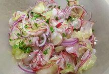 Radieschen- Gurken Salat