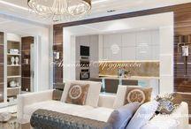 Дизайн проект маленькой квартиры в стиле модерн в г.Зеленоград / Основой дизайнерской концепцией квартиры в городе Зеленоград является стиль модерн. Он задаёт особый тон дизайну всех комнат. Для создания единого стиля было уделено внимание даже незначительным деталям. Светильники, люстры, лакированные и зеркальные поверхности сделали квартиру светлой, просторной и индивидуальной.