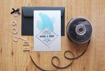 Wedding Invitations / Hand crafted Wedding invitations by PopsDesign
