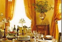 Home, cher! / Warm, colorful French country style / by Angela Hornsby