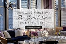 Shine Bright Like A Diamond: Jewel Suite SuiteStakes / Live in the lap of luxury. Reserve a Towers Suite at an exclusive rate and be automatically entered to win a fabulous 2-night stay in our famous Jewel Suite by Martin Katz.  http://www.newyorkpalace.com/suites/amenities/jewel-suite-suitestakes