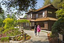 Architecture - Japanese gardens in USA and Canada / Architecture and structures in the member gardens of the North American Japanese Garden Association