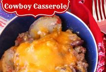 casseroles / by donna irby