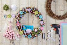 Spring and Easter Wreaths