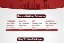 Content Writing Dubai Packages / Content writing is the main ingredient of any website without good and quality content you cannot get a chance to be ranked better in search engines as this is the standard which has been set by Google. There is some level of guidelines for content publishing like your web copy should be original, unique and without any plagiarism. We offer business and professional content writing services in Dubai and UAE for corporate clients at affordable prices.