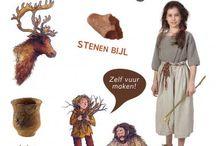 Prehistorie - grotschilderingen / Prehistorie - grotschilderingen