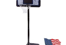 Lifetime 1221 Pro Court Height-Adjustable Portable Basketball System with 44-Inch Backboard