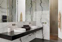Baños marmol calacatta