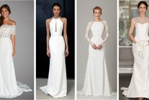 Vestido de noiva com corte reto / Vestido de noiva com corte reto