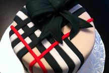 Burberry cakes, cookies and cupcakes....