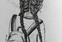 Tekeningen zwart wit