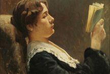 Leitores / Pessoas a ler