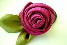 Fabric Flowers / exquisite hand crafted flowers