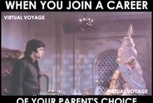 Virtual Voyage Meme's / Choose a Career Of your Own, Listen to the heart & Master your Art...!!