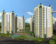 Blossom Greens Faridabad / Bloosom Greens offers 2 / 3 BHK furnished apartments in Faridabad. The project is set amidst of lush greenery. Each apartment has deluxe specifications like AC bedrooms, semi modular kitchen, laminated wooden flooring in master bedroom, etc.